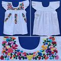 "Hand Embroidered Girl Dress ""Maritza"""
