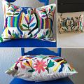 "Otomi Pillow ""Colorines I"""