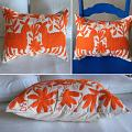 "Otomi Pillow ""Ovejas N"""